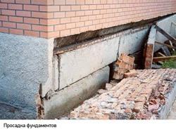 Восстановление фундамента г.Дзержинск