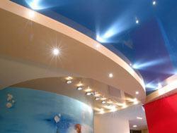 Натяжные потолки г.Дзержинск, сатиновые натяжные потолки, глянцевые натяжные потолки